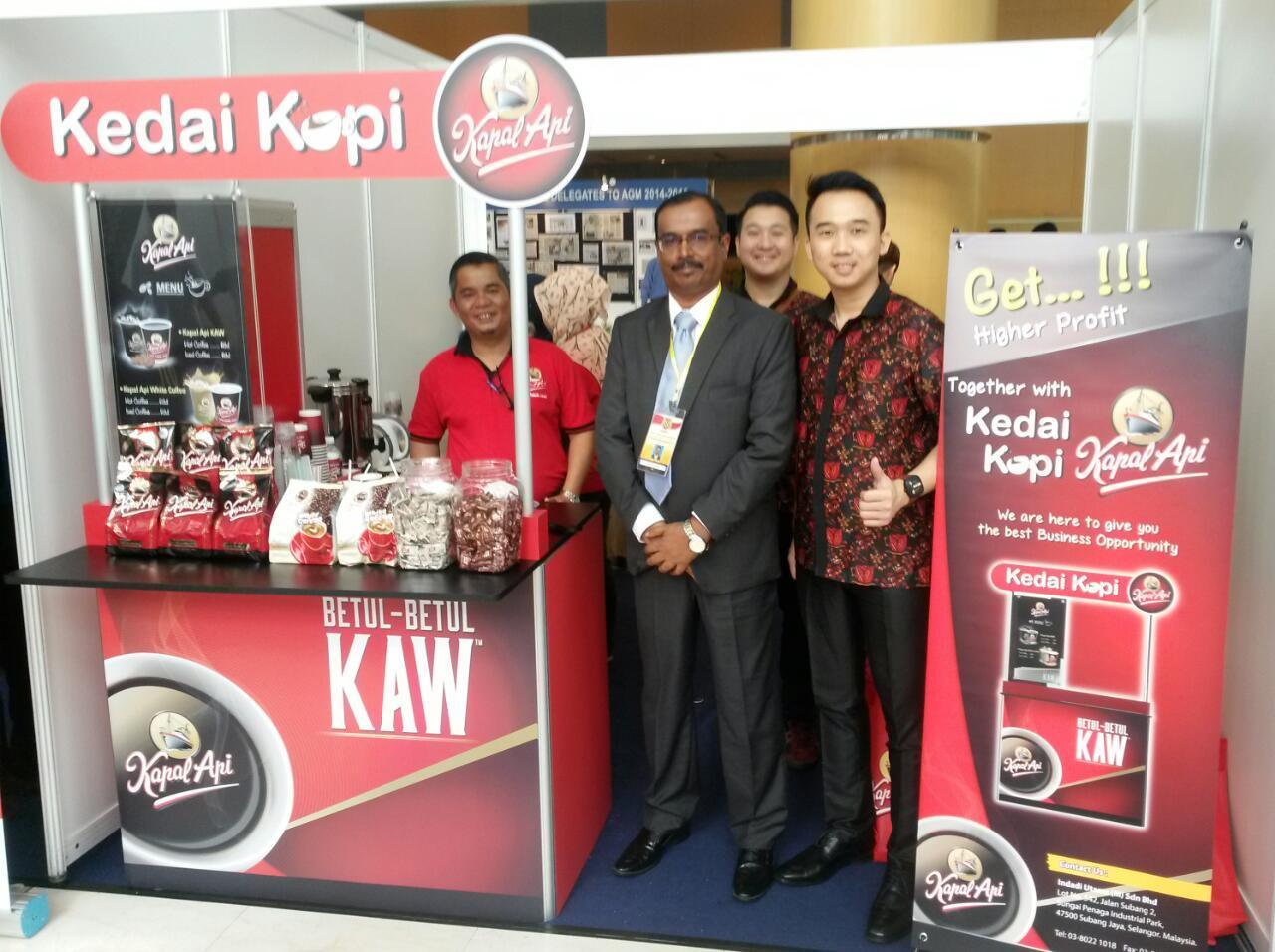 Kedai Kopi Kapal Api Jajaki Kerjasama Dengan Persatuan Restoran Dan Pengusaha Muslim Malaysia Franchiseglobal Com