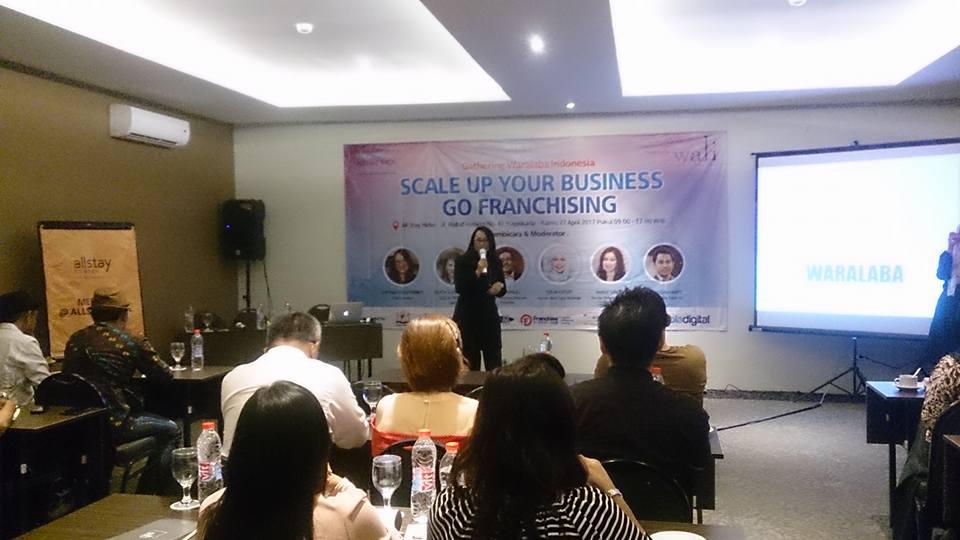 Perhimpunan WALI Gelar Pelatihan Bisnis & Gathering Waralaba Di Yogyakarta