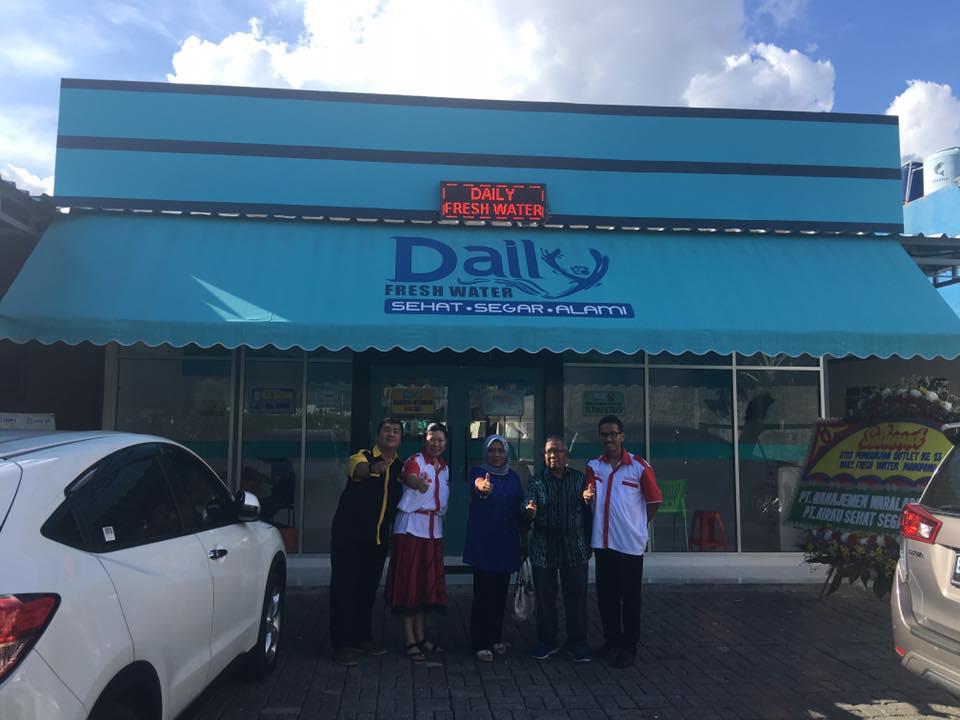 Unjuk Gigi Daily Fresh Water Di Panggung Bisnis Depot Air Minum