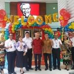 KFC Resmikan Outlet Baru Di Bandara Sepinggan Balikpapan