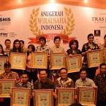 21 Wirausaha Raih Anugerah Wirausaha Indonesia 2016