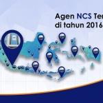 141 Agen NCS Telah Terdaftar Di Tahun 2016