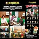 Dari Masyarakat Umum, Hingga Presiden Jokowi Menikmati Segarnya Produk D'Cendol