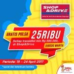 Peringati Hari Kartini, Gratis Pulsa 25 Ribu Di SHOP&DRIVE