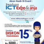 NCS Hadir Di Event ICT Expo & ANJA 2017