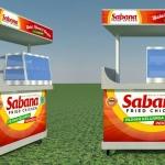 Sabana Fried Chicken Upgrade Tampilan Lewat Desain Booth