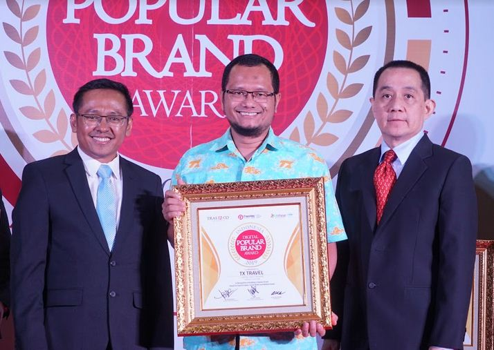 TX Travel, Franchise Travel Pertama Muri yang Raih Indonesia Digital Popular Brand Award 2019
