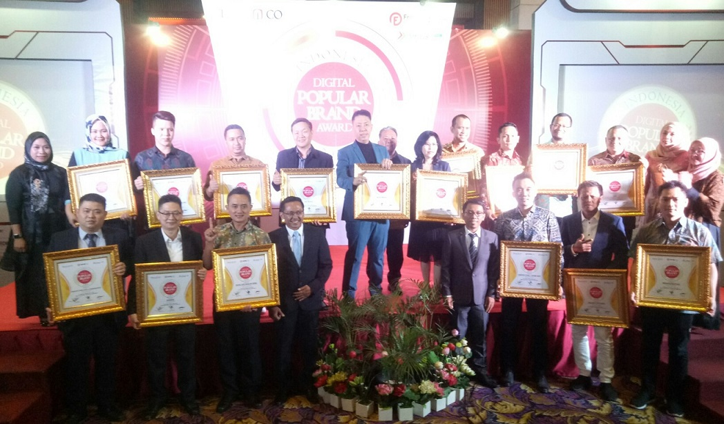 80 Kategori Franchise Raih Indonesia Digital Popular Brand Award 2019