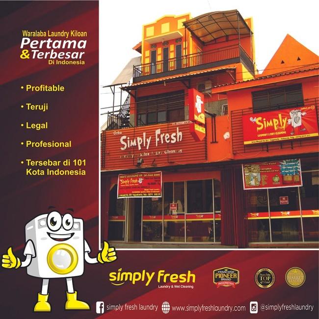 Waralaba Laundry Kiloan Simply Fresh Kian Manjakan Mitra & Konsumen - FranchiseGlobal.com