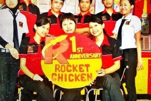 Rocket Chicken Meroket, Lansir Chicken Level