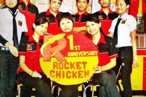 Rocket Chicken Meroket, Lansir Chicken Level