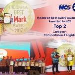 NCS Kembali RaihPenghargaan Indonesia Best eMark 2017.