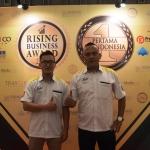 Cetak 463 Gerai, Ayam Gepuk Pak Gembus Didapuk Rising Business Award 2017
