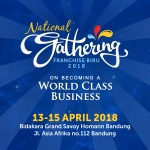 National Gathering Franchise Biru 2018 Siap Digelar