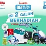 Daily Fresh Water Siap Berikan Yamaha Mio S untuk Pelanggan Setia