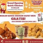 Quick Chicken Resmi Hadir di Pulogebang