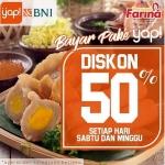 Diskon 50 Persen Buat Pelanggan Pempek Farina yang Bayar Pakai Yap!