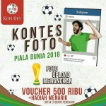 Kopi Oey Gelar Kontes Foto Piala Dunia 2018