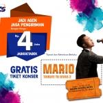 Kesempatan Terakhir Untuk Dapat Tiket Gratis Konser Mario dari NCS