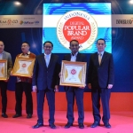 JNE Raih Indonesia Digital Popular Brand Award 2018