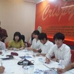 Mahasiswa Jepang Pelajari Sistem Waralaba Crispyku Fried Chicken