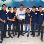 Tak Hanya Juara Monitoring Regional Barat, Depo Air Minum Biru Kresna Jatiasih Raih Poin Tertinggi Secara Nasional