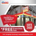Siap Mejeng di FLEI 2018, Alfamart Bebaskan Biaya Franchise Calon Mitra