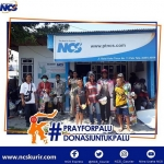 NCS Salurkan Bantuan Untuk Korban Bencana Palu