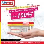 Alfamart Berikan Cashback Franchise Fee Hingga 100 Persen, Ini Syaratnya!
