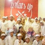 Hari Anniversary ke 4, What's Up Cafe Jadikan Bulan Ramadhan Momentum Saling Berbagi