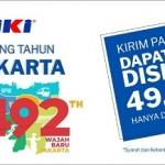 Cek Tarif TIKI, Ada Diskon di HUT DKI Jakarta