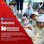 Sabana Bekerjasama dengan Kitabisa.com Bantu Mereka yang Membutuhkan Makan