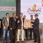 Crispyku Fried Chicken Sukses Menjadi Indonesia Franchise of The Year 2019