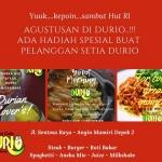 Eksis Di Digital, Sop Durian Durio Hadir dengan Banyak Menu