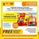 Promo Istimewa dari CBezt, BFC Duo dan AA Raffi Fried Chicken di Pameran FLEI 2019