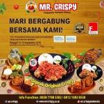 Cari Investasi? MR.Crispy Bisa Jadi Pilihan di Pameran FLEI 2019