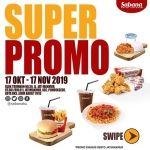 Santap Kelezatan Super Promo Sabana Fried Chicken