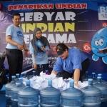 Biru Sukses Gelar Gebyar Undian Bersama Mitra Surabaya