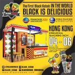 Hadir di Hong Kong Franchising Show, Black Kebab Siap Go International