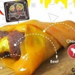 Pertama di Indonesia, Black Kebab Hadirkan Triple Cheese Untuk Penggemar Keju