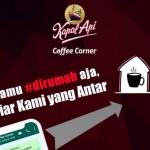 Konsumen #DirumahAja, Coffee Corner Kapal Api Hadirkan Layanan Home Delivery Service