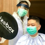 Gunting Rambut Sehat #DiRumahAja bersama Ixobox Home Haircuts