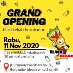 Black Kebab Kini Hadir di Candi Borobudur