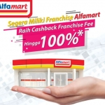 Alfamart Berikan Cashback Franchise Fee Hingga 100% Untuk Calon Investor, Buruan Daftar!