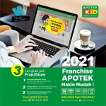 Waralaba Apotek K-24 2021: Prospek Cerah Cara Mudah