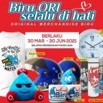 Pengumuman! Depo Air Minum Biru Buka Merchandise Store